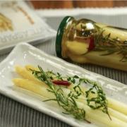 White asparagus pickles