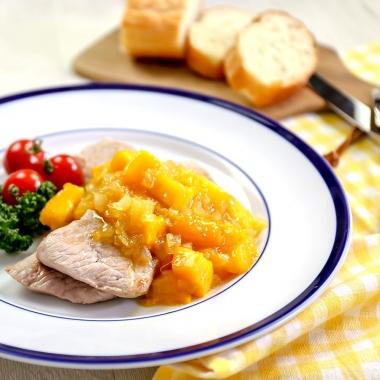 豚肉のソテーマンゴーソース