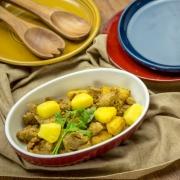 パイナップルと豚肉のカレーソテー