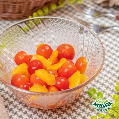 チェリートマトとオレンジのスイートマリネ