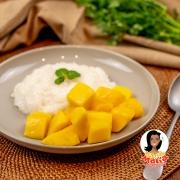 カオニャオ・マムワン(マンゴーともち米のデザート)
