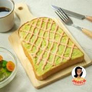 明太アボカドトースト