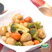 野菜たっぷり酢豚風肉団子