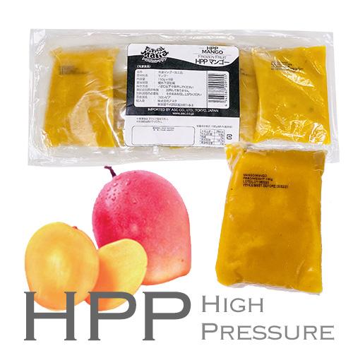 HPP マンゴー(ハイプレッシャーによる 栄養成分の破壊がないピューレ)