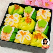 糖質OFFアボカド&カリフラワーライスのてまり寿司