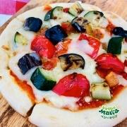 【ちょい足し】グリル野菜ミックスのベジーピザ
