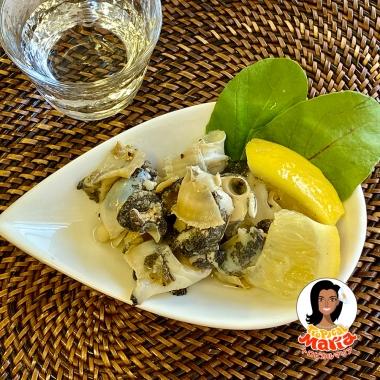【ちょい足し】バル風 つぶ貝の簡単レモンマリネ